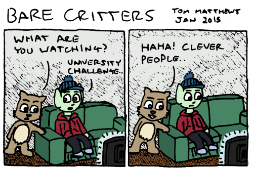 Bare critters clever people